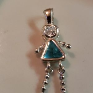 Jewelry - Vintage 90's March sterling silver baby